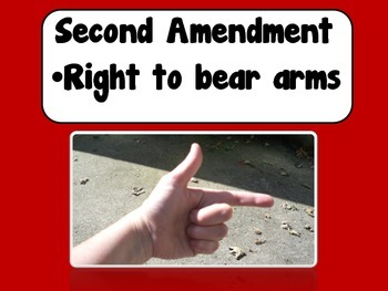 Bill of Rights Hand Signals