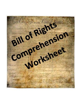 Bill of Rights Handout