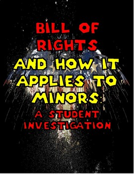 Bill of Rights: How Does it Apply to Minors