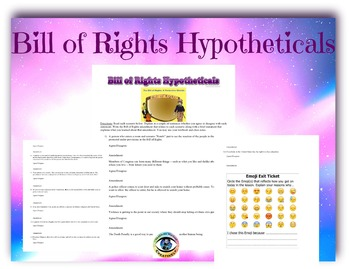 Bill of Rights Hypotheticals