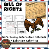 Bill of Rights Interactive Note-taking Activities