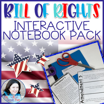 Bill of Rights Interactive Notebook Pack