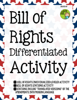 Bill of Rights Differentiated Activities