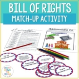 Bill of Rights Match-Up Center Activity