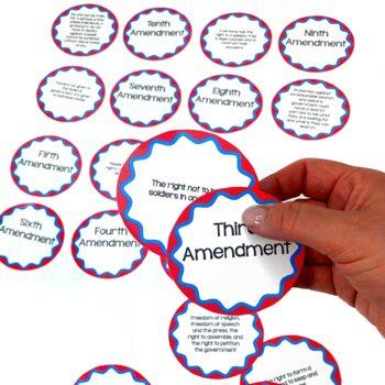 Bill of Rights Activity: Bill of Rights Match-Up Center Activity