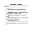 Bill of Rights Matching Quiz