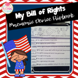 Bill of Rights Mnemonic Device Flipbook