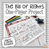 Bill of Rights One-Pager - Creative Project for Civics & A
