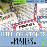 Bill of Rights Primary Source POSTERS