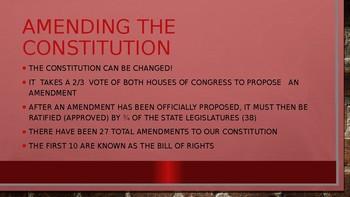 Bill of Rights Power Point Presentation