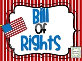 Bill of Rights PowerPoint and Notes Set