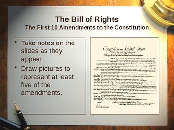 bill of rights powerpoint by noelle prideaux teachers pay teachers