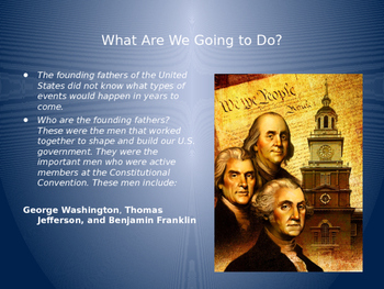 Bill of Rights Powerpoint-Think Pair Share style