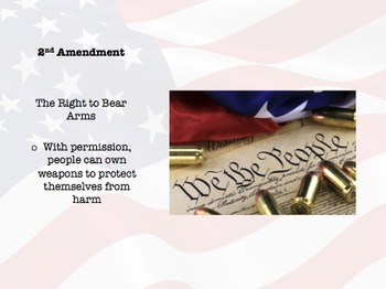 Bill of Rights: Powerpoint and Notes