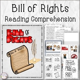 Bill of Rights Reading Comprehension Bundle