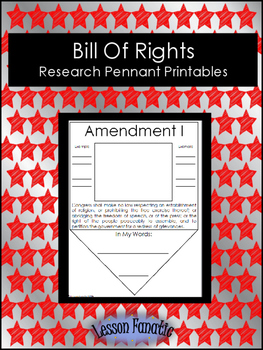 Bill of Rights Research Pennants