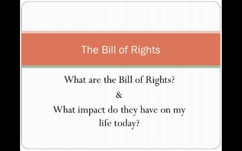 Bill of Rights Resources