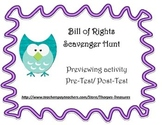 Bill of Rights Scavenger Hunt