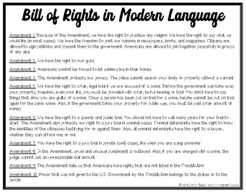 photo regarding Printable Bill of Rights named Monthly bill of Legal rights Conditions Undertaking Playing cards - Printable Variation