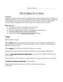 Bill of Rights Science Fiction Story - Grade 8