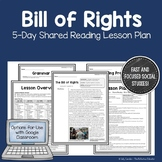 Bill of Rights: Shared Reading Lesson Plan