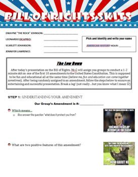 Bill of Rights Skits