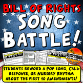 Bill of Rights Song or Rap Battle Fun First 10 Amendments