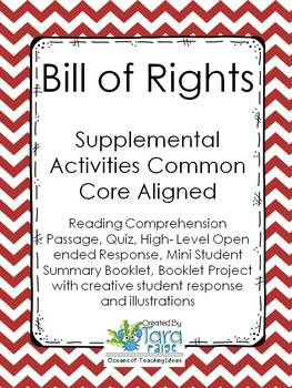 Bill of Rights Common Core Unit