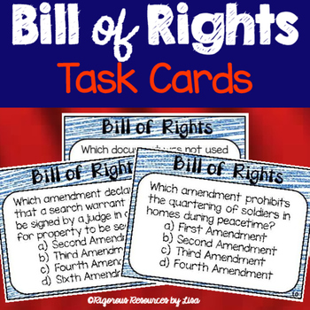 Bill of Rights Task Cards