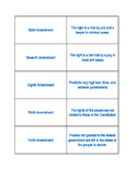 Bill of Rights Task Cards (Bilingual, Spanish, English) EDITABLE
