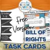 Bill of Rights Activity | Differentiated Task Cards | FREE