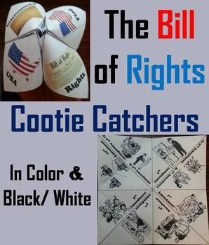 US Constitution: Bill of Rights Activities - Task Cards, Foldables, etc.