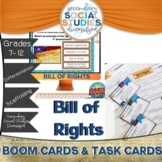 Bill of Rights | Task Cards | BOOM Cards | Notes | Distanc