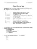 Bill of Rights Test