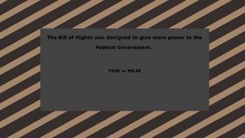 Bill of Rights: The First Five Amendments