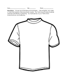 Bill of Rights Tshirt Activity