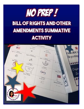 Bill of Rights and Other Amendments Summative Activity