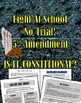 Bill of Rights and School Issues: 6 Lessons