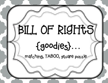Bill of Rights {center fun}