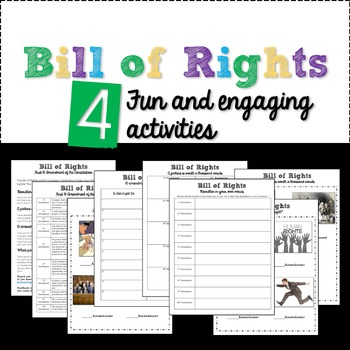 Bill of Rights lesson activities