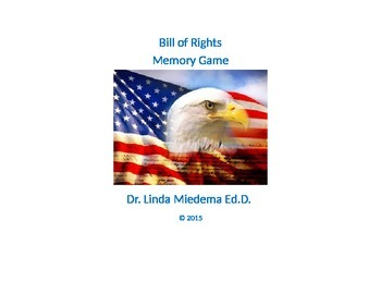 Bill of Rights memory game
