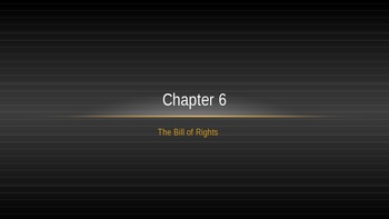 Bill of Rights vocabulary and videos