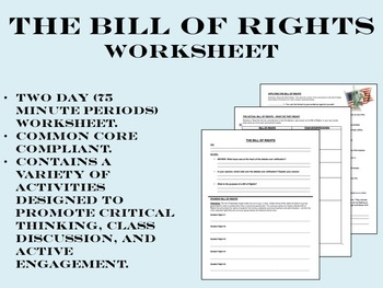 Bill of Rights For Kids | Matching games, Social studies and ...