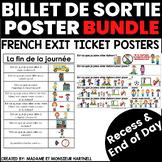 Billet de sortie : récréation - French Exit Ticket Poster