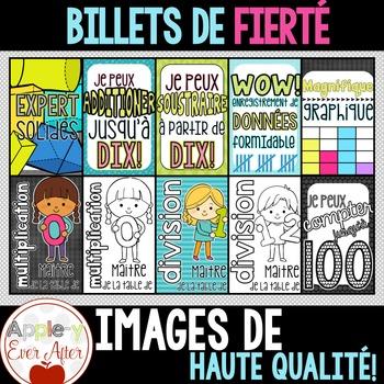 Billets de Fierté - Mathématiques - French Brag Tags
