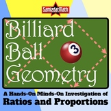 Billiard Ball Geometry: Ratios, Proportions, Mathematical
