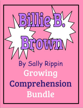 Billie B. Brown Book Studies Growing Bundle