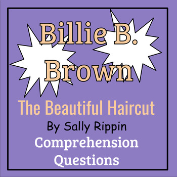 Billie B. Brown: The Beautiful Haircut by Sally Rippin Book Study