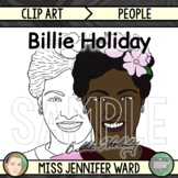 Billie Holiday Clip Art