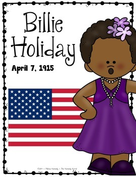 Billie Holiday Biography Research Bundle {Report, Trifold, & MORE!}